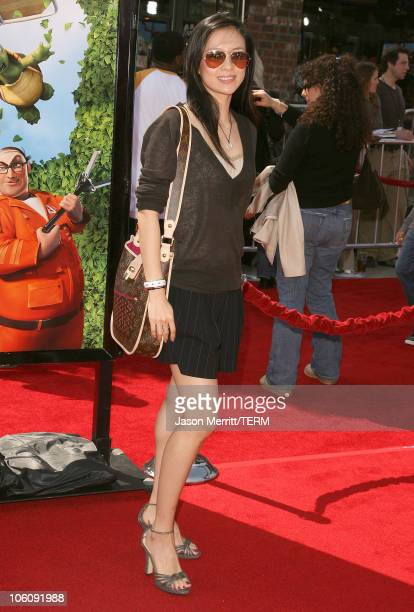 Ziyi Zhang during Dreamworks' Over The Hedge Los Angeles Premiere Arrivals at Mann Village Theatre in Westwood California United States