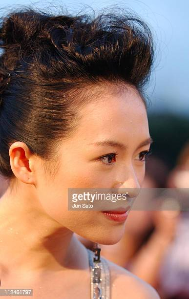 Ziyi Zhang during 'Lovers' Tokyo Premiere Arrivals at NHK Hall in Tokyo Japan