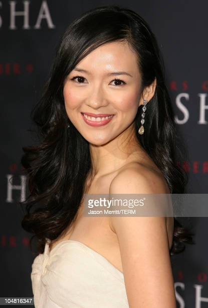 Ziyi Zhang during 'Memoirs of a Geisha' Los Angeles Premiere Arrivals at Kodak Theatre in Hollywood California United States