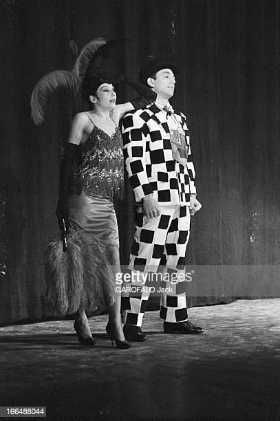 Zizi Jeanmaire And Roland Petit On Stage Paris Septembre 1956 Zizi JEANMAIRE et Roland PETIT dansent dans les ballets de Paris à l' Alhambra Sur...