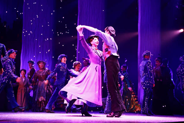 """GBR: """"Mary Poppins"""" - Press Night - Curtain Call & Backstage"""