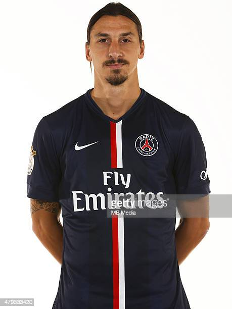 Zlatan IBRAHIMOVIC Portrait Officiel Paris Saint Germain Gavelle / PSG / Icon Sport/MB Media