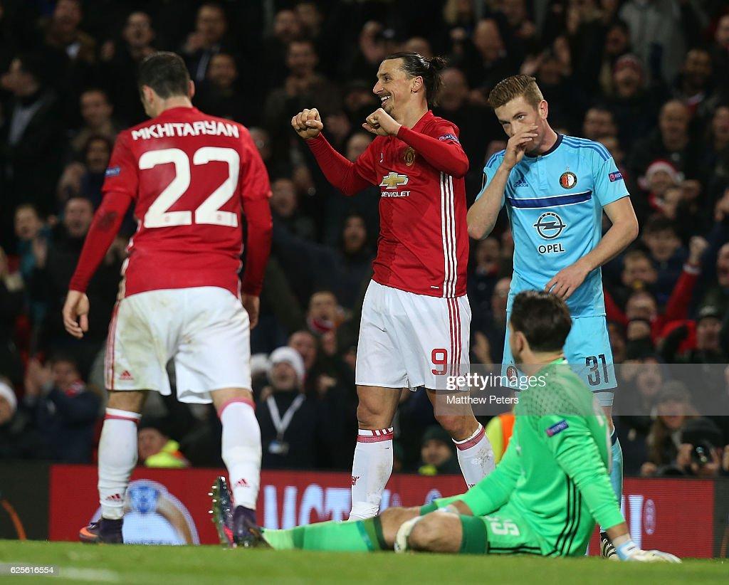 Manchester United FC v Feyenoord - UEFA Europa League