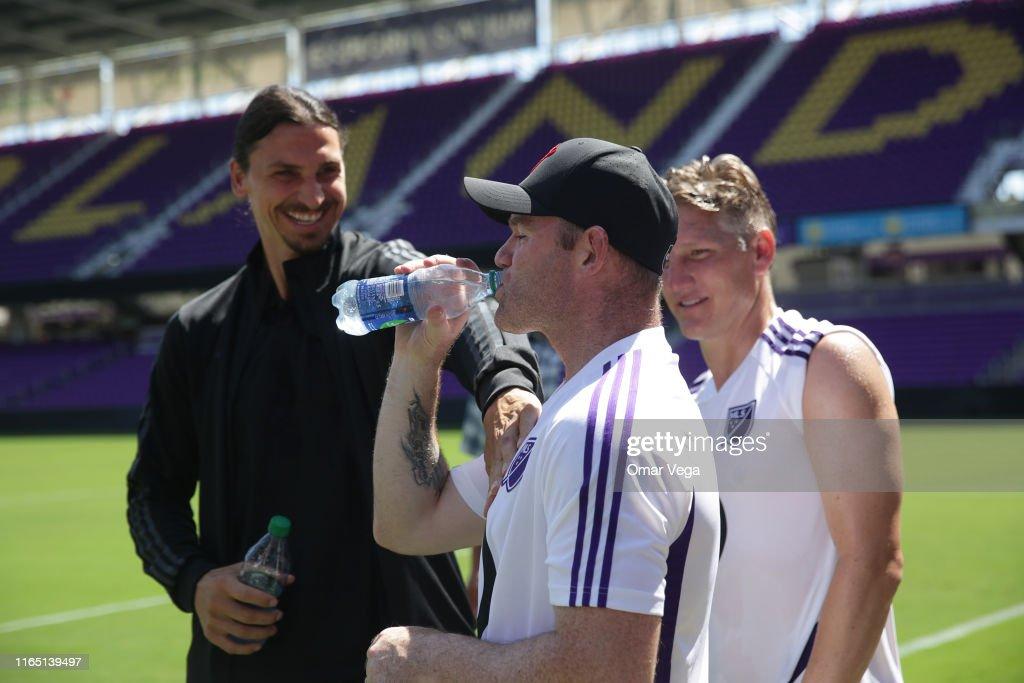 MLS All-Stars Training Session : News Photo