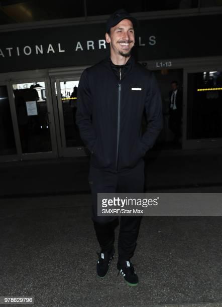 Zlatan Ibrahimovic is seen on June 18 2018 in Los Angeles CA