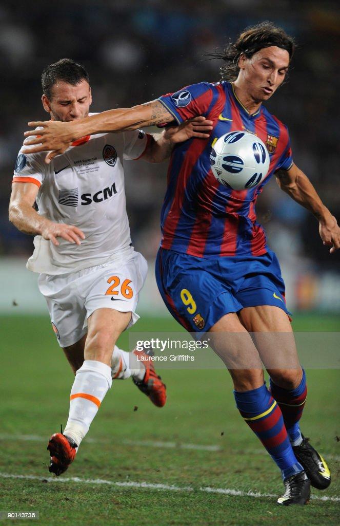 Barcelona v Shakhtar Donetsk - UEFA Super Cup : News Photo