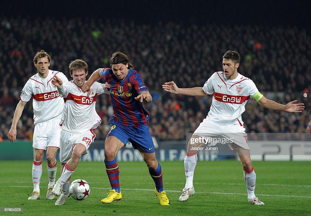 Barcelona v VfB Stuttgart - UEFA Champions League : News Photo