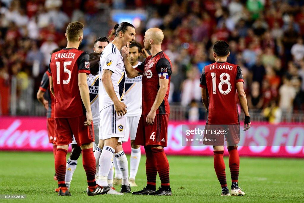 SOCCER: SEP 15 MLS - LA Galaxy at Toronto FC : News Photo
