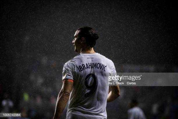 Zlatan Ibrahimovic of LA Galaxy during the Major League Soccer match between LA Galaxy and Philadelphia Union at Talen Energy Stadium on July 21 2018...