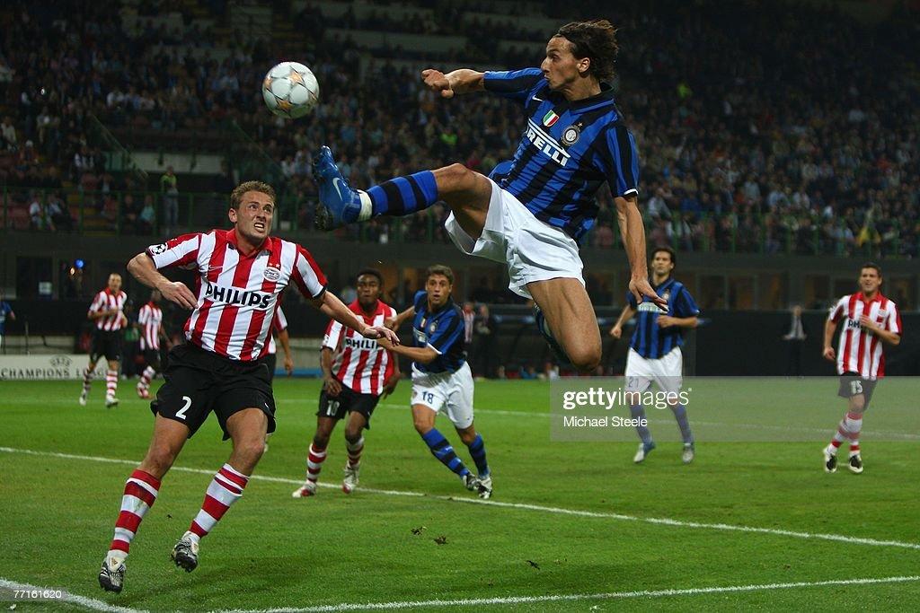 Inter Milan v PSV Eindhoven - UEFA Champions League : News Photo