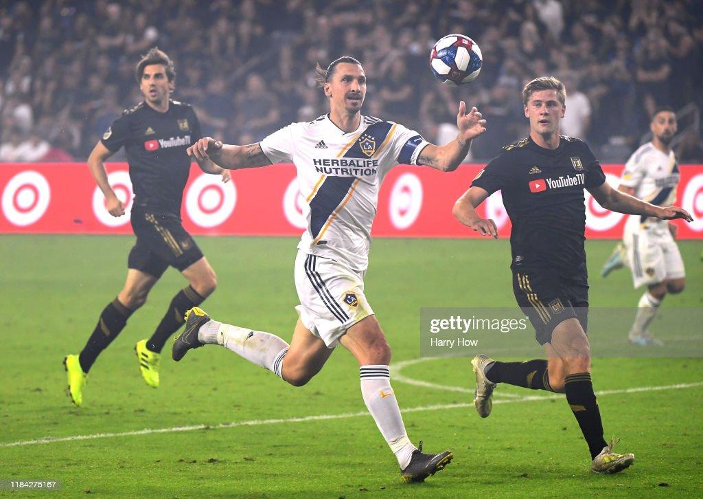 Los Angeles Galaxy v Los Angeles FC - Western Conference Semifinals : News Photo
