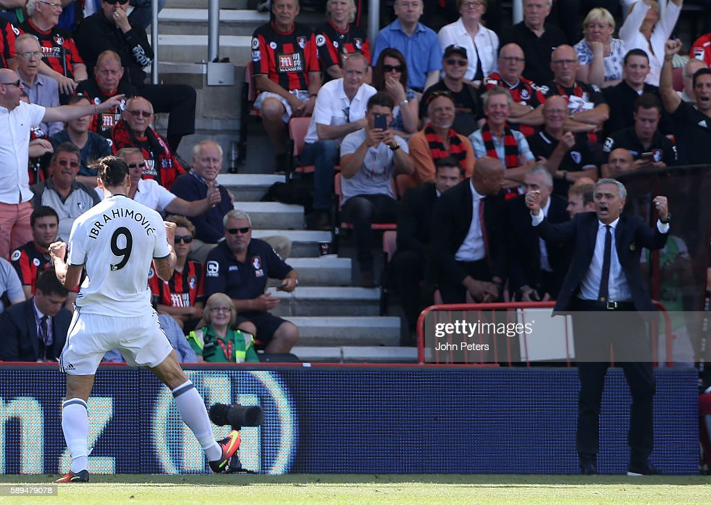 AFC Bournemouth v Manchester United - Premier League : News Photo