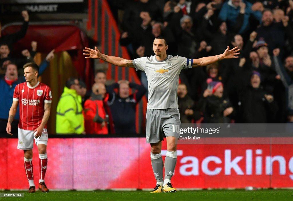 Bristol City v Manchester United - Carabao Cup Quarter-Final : News Photo