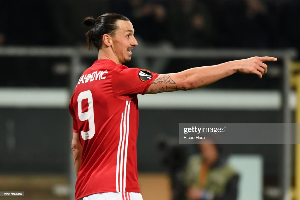 RSC Anderlecht v Manchester United - UEFA Europa League Quarter Final: First Leg : ニュース写真