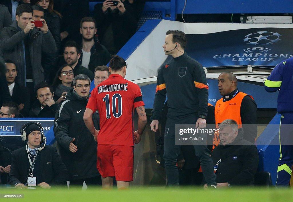 Chelsea FC v Paris Saint-Germain FC - UEFA Champions League Round of 16 : News Photo