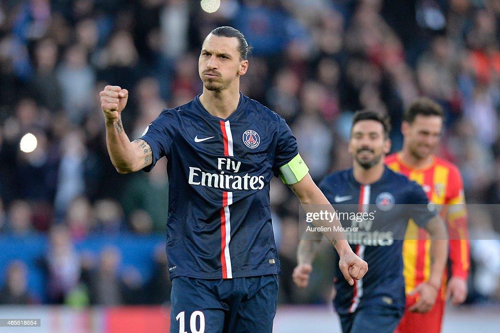 Paris Saint-Germain FC v RC Lens - Ligue 1 : Photo d'actualité