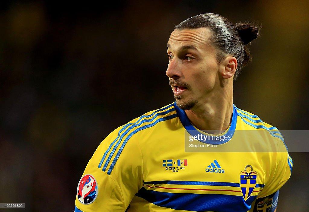 Sweden v Moldova - UEFA EURO 2016 Qualifier : News Photo