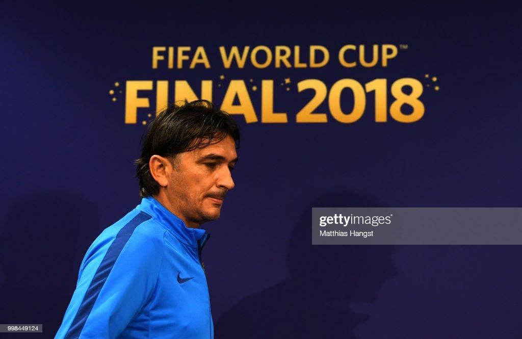 Croatia Press Conference & Training Session - 2018 FIFA World Cup Russia