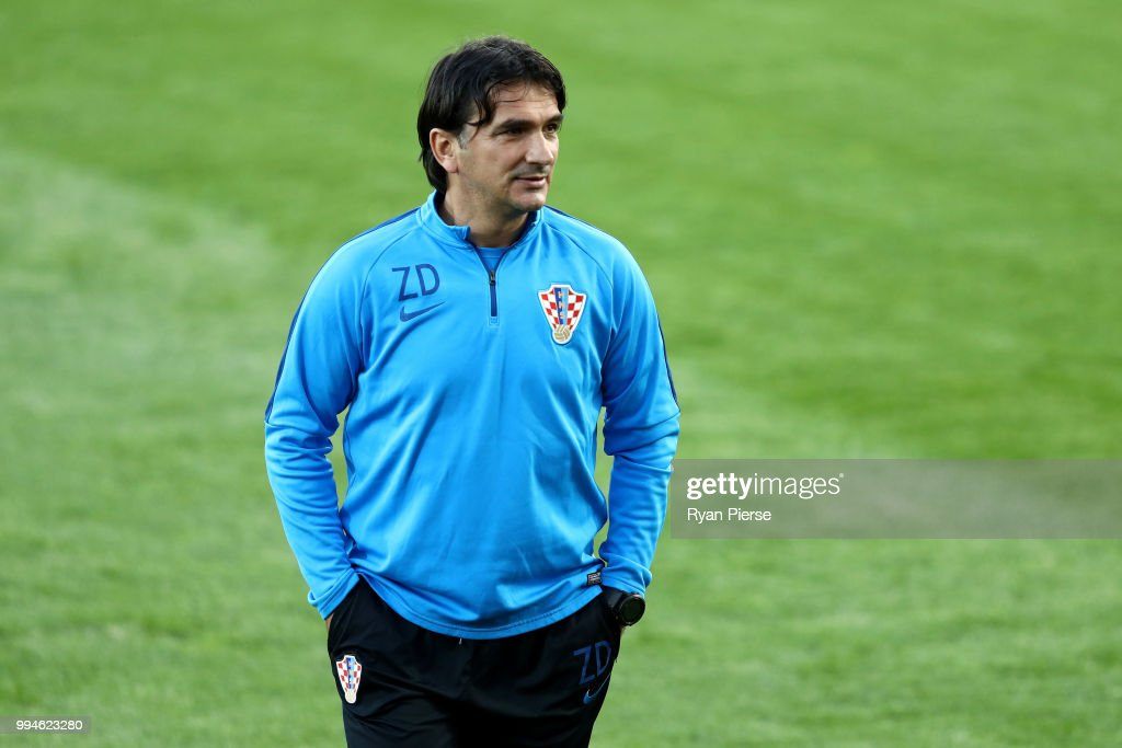 Croatia Training Session and Press Conference - 2018 FIFA World Cup Russia