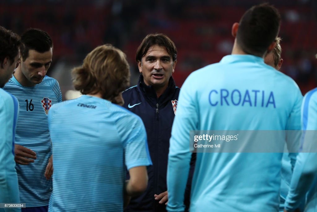 Greece v Croatia - FIFA 2018 World Cup Qualifier Play-Off: Second Leg : News Photo