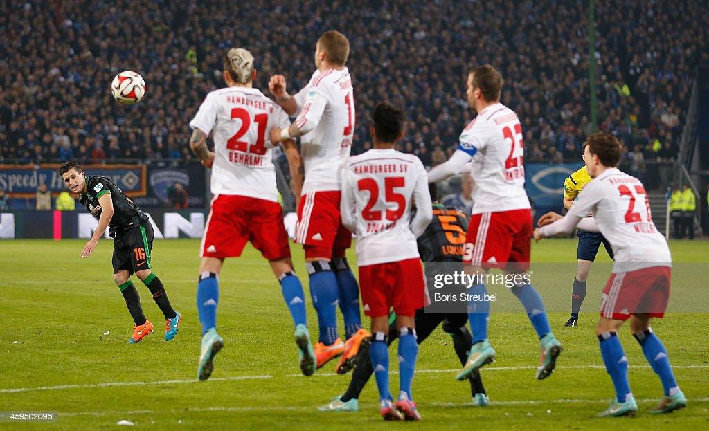 Hamburger SV v SV Werder Bremen - Bundesliga : News Photo
