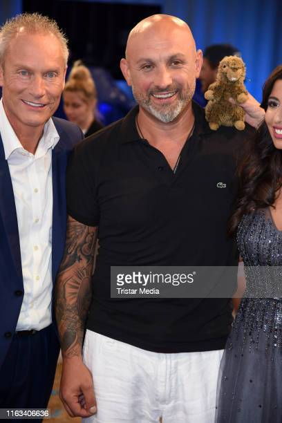 Zlatko Trpkovski attends the Promi Big Brother final at MMC Studios on August 23 2019 in Cologne Germany