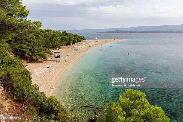 Zlatni Rat beach in Bol, Croatia
