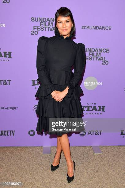 Zoë Chao attends the 2020 Sundance Film Festival Downhill Premiere at Eccles Center Theatre on January 26 2020 in Park City Utah