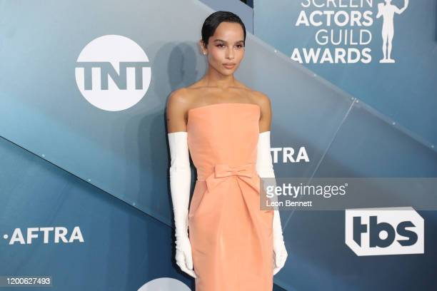 Zoë Kravitz attends 26th Annual Screen Actors Guild Awards at The Shrine Auditorium on January 19 2020 in Los Angeles California