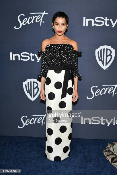 Zoë Kravitz attends the 21st Annual Warner Bros. And InStyle Golden Globe After Party at The Beverly Hilton Hotel on January 05, 2020 in Beverly...