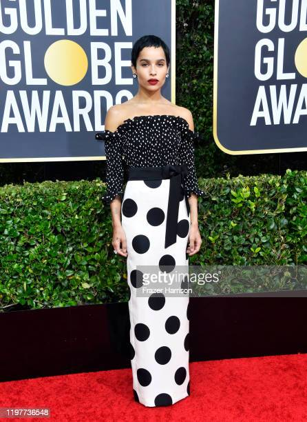 Zoë Kravitz attends the 77th Annual Golden Globe Awards at The Beverly Hilton Hotel on January 05 2020 in Beverly Hills California