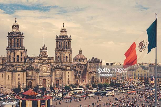 Piazza Zocalo di Città del Messico