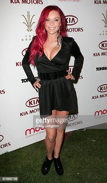 Zodiac Show's Carmit Bachar attends a sneak preview for the bebeKardashians Capsule Collection at The Grove on March 13 2010 in Los Angeles California