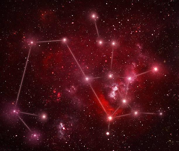Zodiacal constellations. Sagittarius