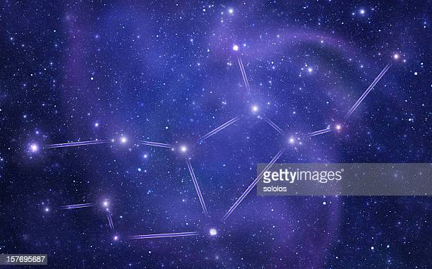Zodiacal constellations. Virgo