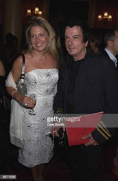 Zoe Appleyard and designer Nicky Haslam at the UK Neurofibromatosis Association 20th Anniversary Gala Concert held at the Theatre Royal on 12th May...