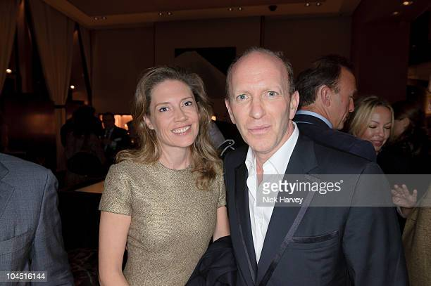 Zoe Appleyard and Simon SebagMontefiore attend the launch of Tara PalmerTomkinson's book Inheritance at Asprey on September 28 2010 in London England