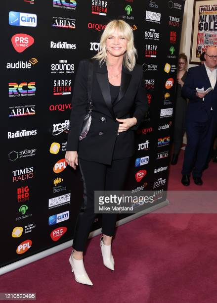 Zoe Ball attends the Audio Radio & Industry Awards 2020 at London Palladium on March 04, 2020 in London, England.