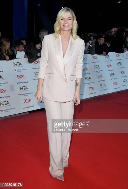 Zoe Ball attends the National Television Awards held at the O2 Arena on January 22 2019 in London England