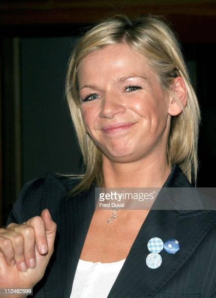 Zoe Ball during Daily Mail Ideal Home Show 2006 Photocall at Earls Court in London Great Britain