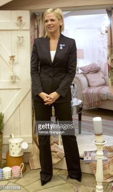 Zoe Ball during Daily Mail Ideal Home Show 2006 Photocall at Earls Court Exhibition Centre in London Great Britain