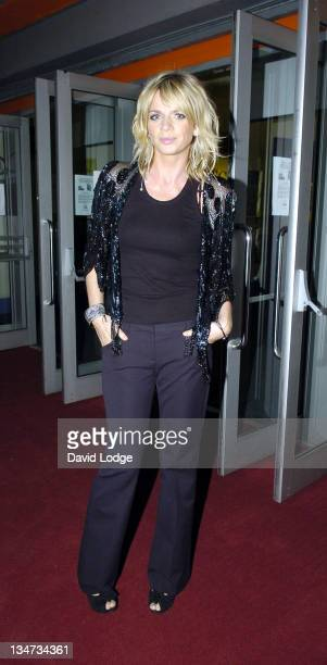 Zoe Ball during Four Brothers and a Funeral UK Short Film Premiere in London United Kingdom