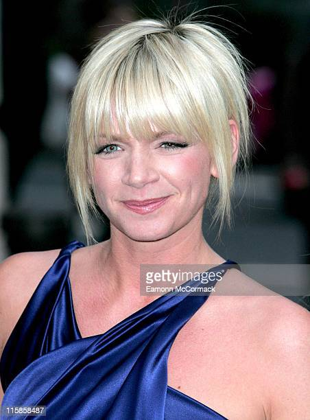Zoe Ball during Grease Is The Word Press Photocall at Bloomsbury Ballroom in London Great Britain