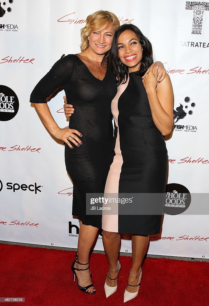Actress Zoe Bell attends the Gimme Shelter Los Angeles