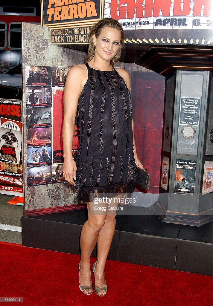 Zoe Bell at the The Orpheum Theatre in Los Angeles, California