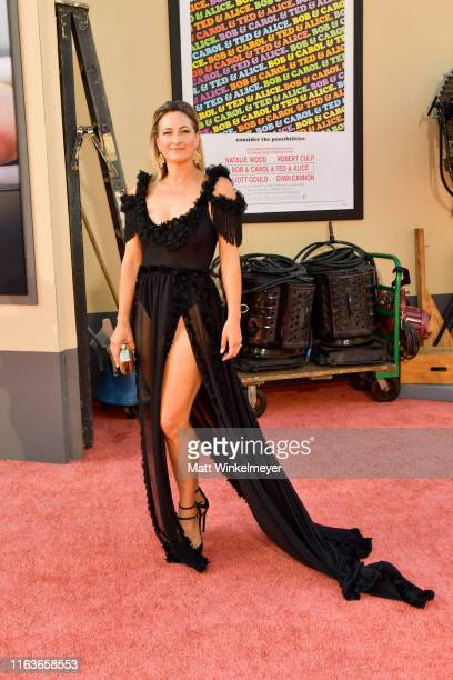 """Zoe Bell attends Sony Pictures' """"Once Upon A Time...In Hollywood"""" Los Angeles Premier on July 22, 2019 in Hollywood, California."""