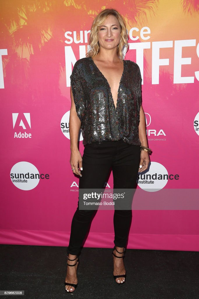 Zoe Bell attends the Sundance NEXT FEST Opening Night Honoring Quentin Tarantino at The Theater at The Ace Hotel on August 10, 2017 in Los Angeles, California.