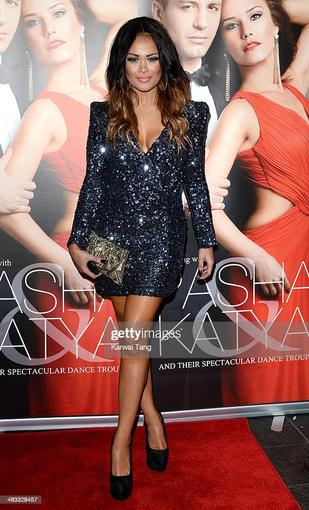 Zoe Birkett attends the VIP preview evening for 'Katya & Pasha' held at the Lyric Theatre on April 7, 2014 in London, England.