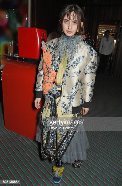 Zoe Bleu Sidel attends an after party celebrating the FENDI Sloane Street Boutique opening at Isabel on December 14 2017 in London England