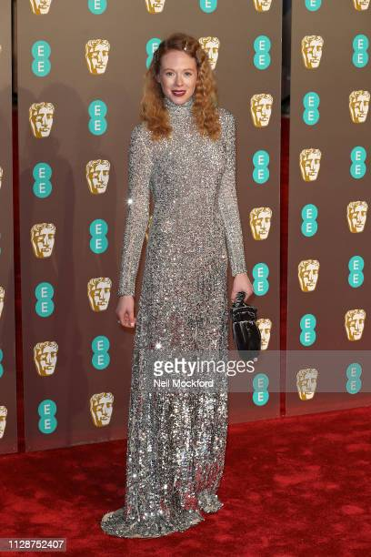 Zoe Boyle attends the EE British Academy Film Awards at Royal Albert Hall on February 10 2019 in London England